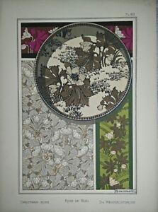 Augusto-Giacometti-Eugene-Grasset-1896-039-s-Lithography-Original-Plank-60