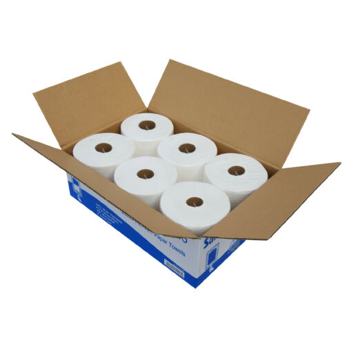 SunnyCare #5505 Center Pull Paper Towels 2-Ply 600sheets//roll ; 6 Rolls