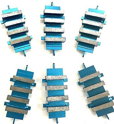 Industrial Grade! New 6PK Diamond Grinding Block Dyma-Sert for EDCO Grinders