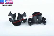 2X HID Xenon Bulb Adapter Holders H1 X-Clip For Honda Odyssey CRV Acura Prelude