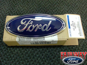 04-05-06-07-08-F-150-F150-OEM-Genuine-Ford-Parts-Tailgate-Emblem-NEW-FORD-Oval