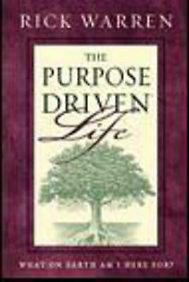 1 of 1 - Purpose-driven Life: What on Earth am I Here For? by Rick Warren (Paperback,...