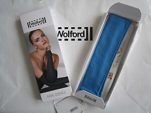 Wolford Fatal Sleeves • Vivid • Bnib ..... Ärmel Aus Weichem Velvet Material Kataloge Werden Auf Anfrage Verschickt