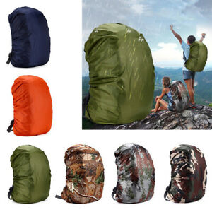 20-55L Reflective Backpack Cover Outdoor Waterproof Bag Rain Cover Bags Portable