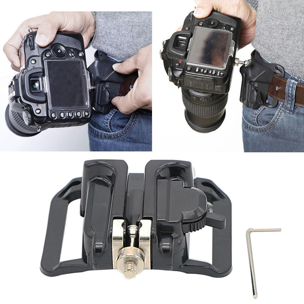 Waist Belt Buckle for Camera Mount DSLR Clip Loading Fast Holster Hanger Holder 10