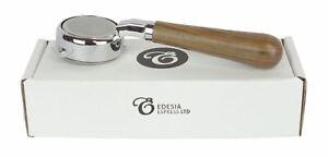 GAGGIA 58mm Bottomless Naked Portafilter Espresso Walnut Handle - 21g Basket