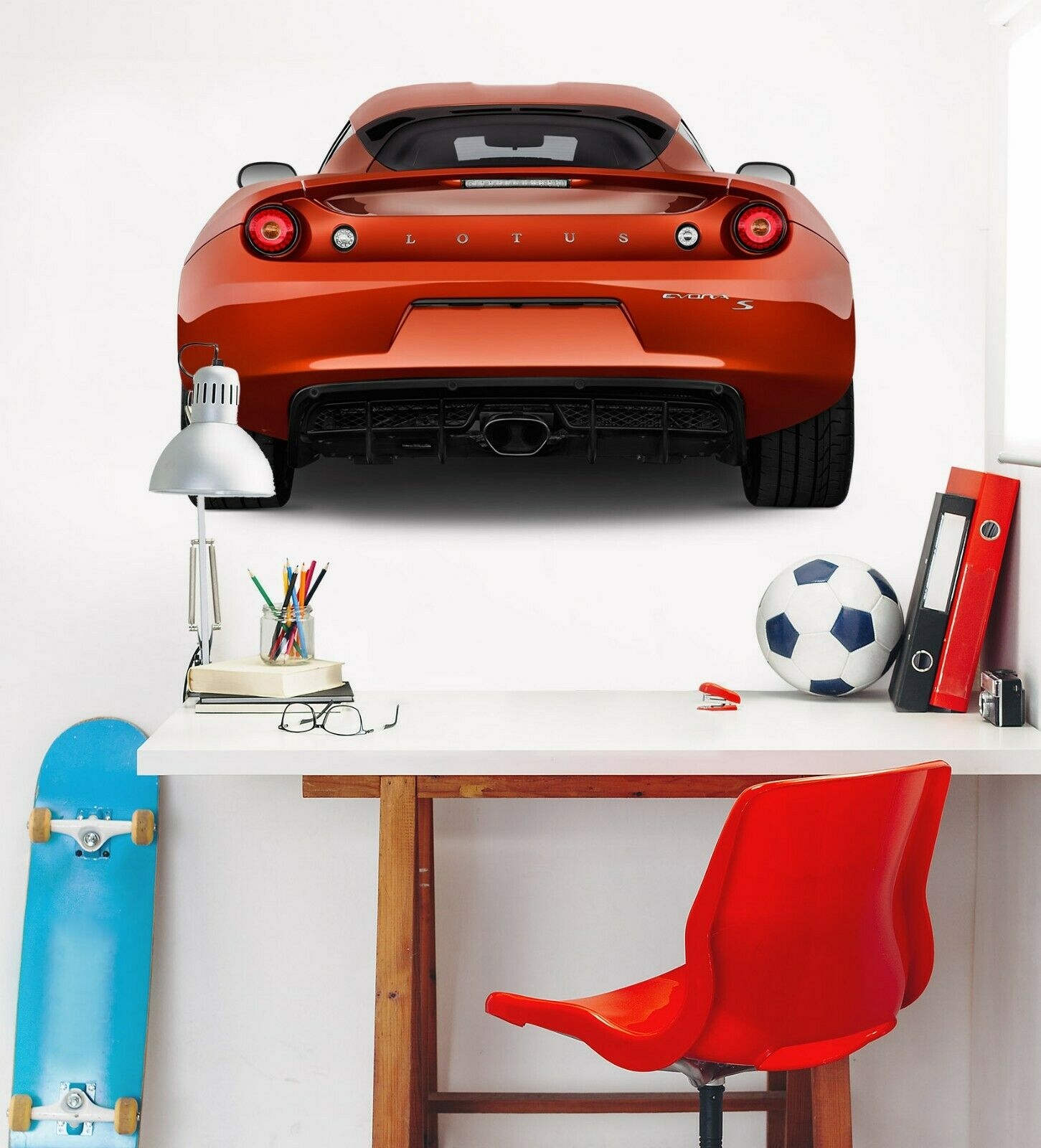 3D Lotus Evora C230 Auto Wallpaper Wandbild Poster Transport Wandaufkleber Wend