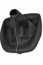 FITS BMW E39 M5 5 1995-2003 MANUAL GAITER SHIFT BOOT M3 STITCHING LEATHER