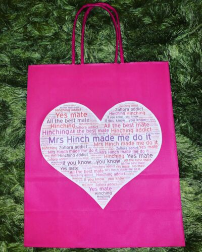 Birthday Gift bags Zoflora Mrs Hinch Present Wrapping Hinching Addict