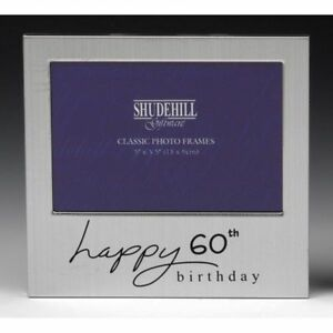 Image Is Loading Happy 60th Birthday Gift Present Photo Frame 5