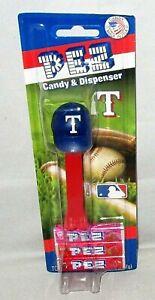 MLB TEXAS RANGERS Pez Dispenser BASEBALL CAP   [Carded]