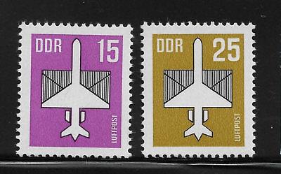 Gastfreundlich Briefmarken Ddr 3128-3129 Postfrisch, Flugpostmarken (v) MöChten Sie Einheimische Chinesische Produkte Kaufen?