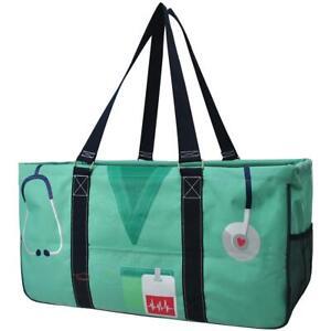 Canvas Nurse Extra Large All Purpose Large Utility Bag no monogram