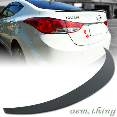 For Hyundai MD Elantra Saloon Avante Rear OE Type Trunk Spoiler Unpainted ABS