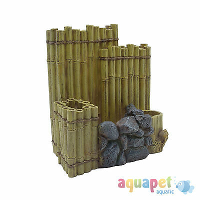 Fluval EDGE Bamboo Wall Aquarium Ornament Fish Tank Decor