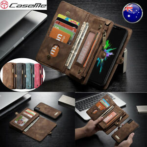 Multifunction-Leather-Wallet-Zipper-Case-Cover-For-iPhone-XS-Max-XR-X-6-7-8-Plus