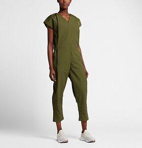 Image is loading Women-s-NIKE-Bonded-Jumpsuit-Size-Medium-835551- ff16368f44