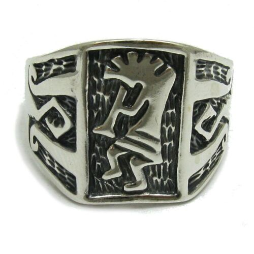 Sterling silver ring solid 925 Kokopelli R000321 Empress