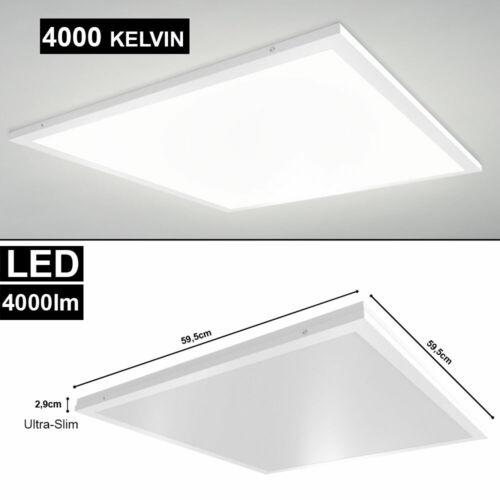 LED 40W Decken Einbau AUFBAU Aufputz Panel Leuchte Büro