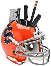 SYRACUSE ORANGE NCAA Schutt Mini Football Helmet DESK CADDY