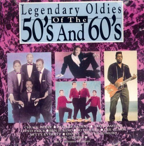 Legendary Oldies of the 50s and 60s [CD] Chuck Berry, Ben E. King, Dee Clark,...