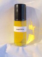 Acqua Type 1.3oz Large Roll On Pure Men Fragrance Oil