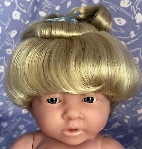 Kemper-RENEE-Pale-Blonde-Full-Adj-Cap-Doll-Wig-Size-12-13-Baby-Child-Woman