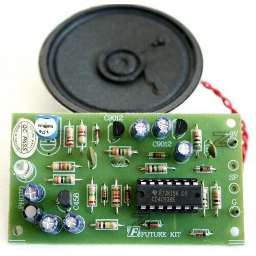 Photosensor Intruder Alarm Kit Electronics Project Kit Electronics Assembly