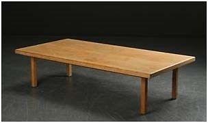 Sofabord, Hans J. Wegner, egetræ