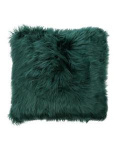 Vue-Kenya-Faux-Fur-Cushion-in-Forest-Green