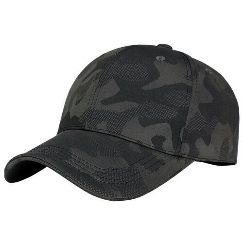 Unisex Men Women Camouflage Baseball Cap Snapback Hat Hip-Hop Adjustable Cap