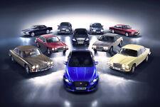 """Jaguar XJ 50th Anniversary Poster 40x30/"""" 32x24/"""" 24x18 Car Art Print Silk"""