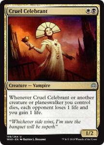 Cruel-Celebrant-x4-Magic-the-Gathering-4x-War-of-the-Spark-mtg-card-lot