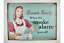 Quirky-Metal-Wall-Hanging-Plaques-Loads-of-Styles-30x40x1cm-Signs thumbnail 66