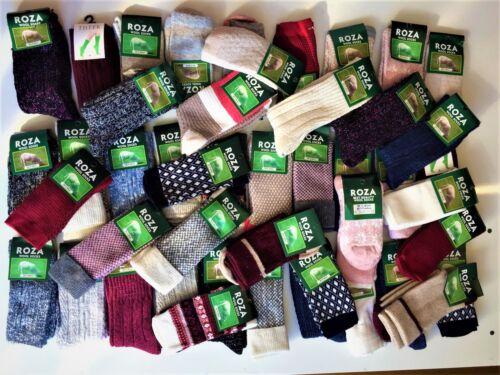 3 Pairs Women Ladies Wool Socks High Quality Cosy Long Winter Warm SocksUK GJHKJ