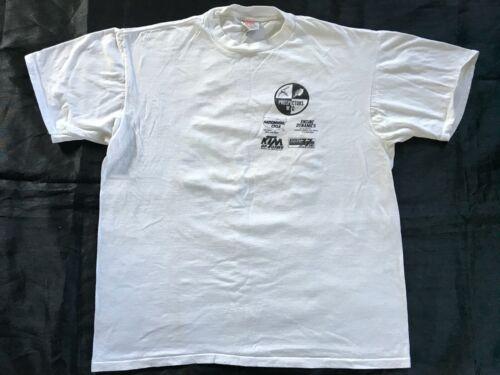 Single Stitch Vintage Shirt GOLD ENDURO RUSH 1996