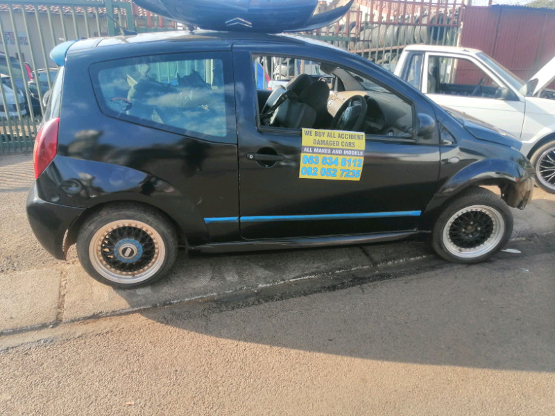 Citroen C2 stripping for spares R100