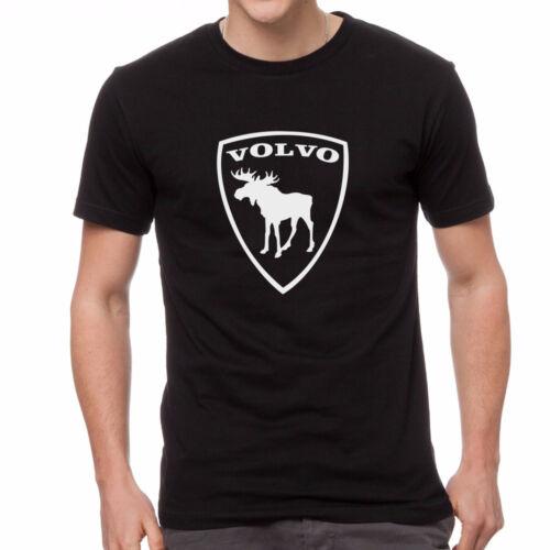Volvo racing moose t-shirt black custom tshirt 100/% cotton