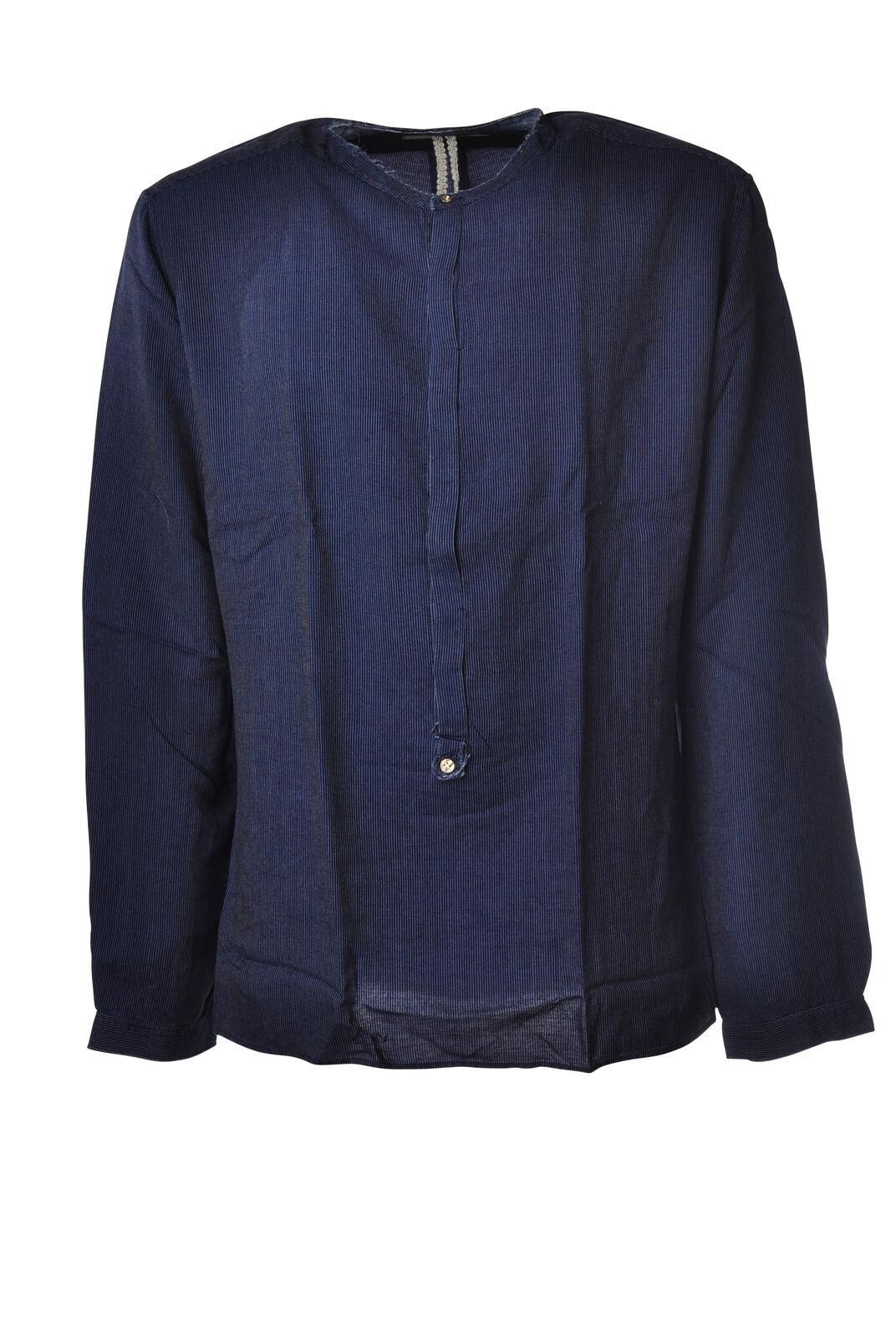 Dnl - Shirts-Shirt - Man - bluee - 5258525E180809
