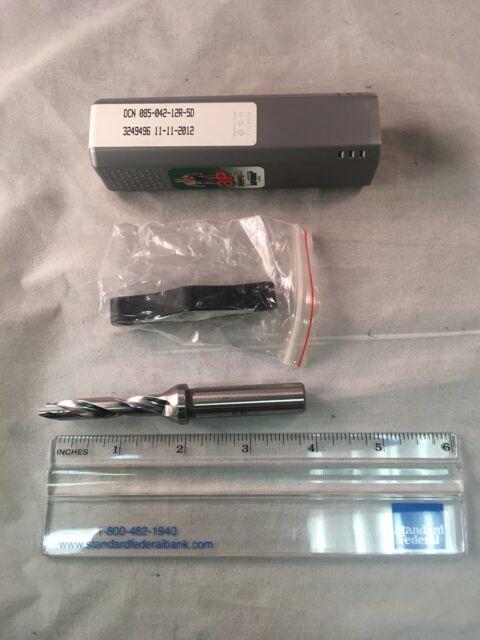 Iscar DCN 085 042 12R 5D Drill Body Coolant Through Sumocham 3P