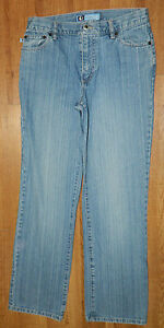 Womens Classic Duck Head Brand Relaxed Denim Jeans size