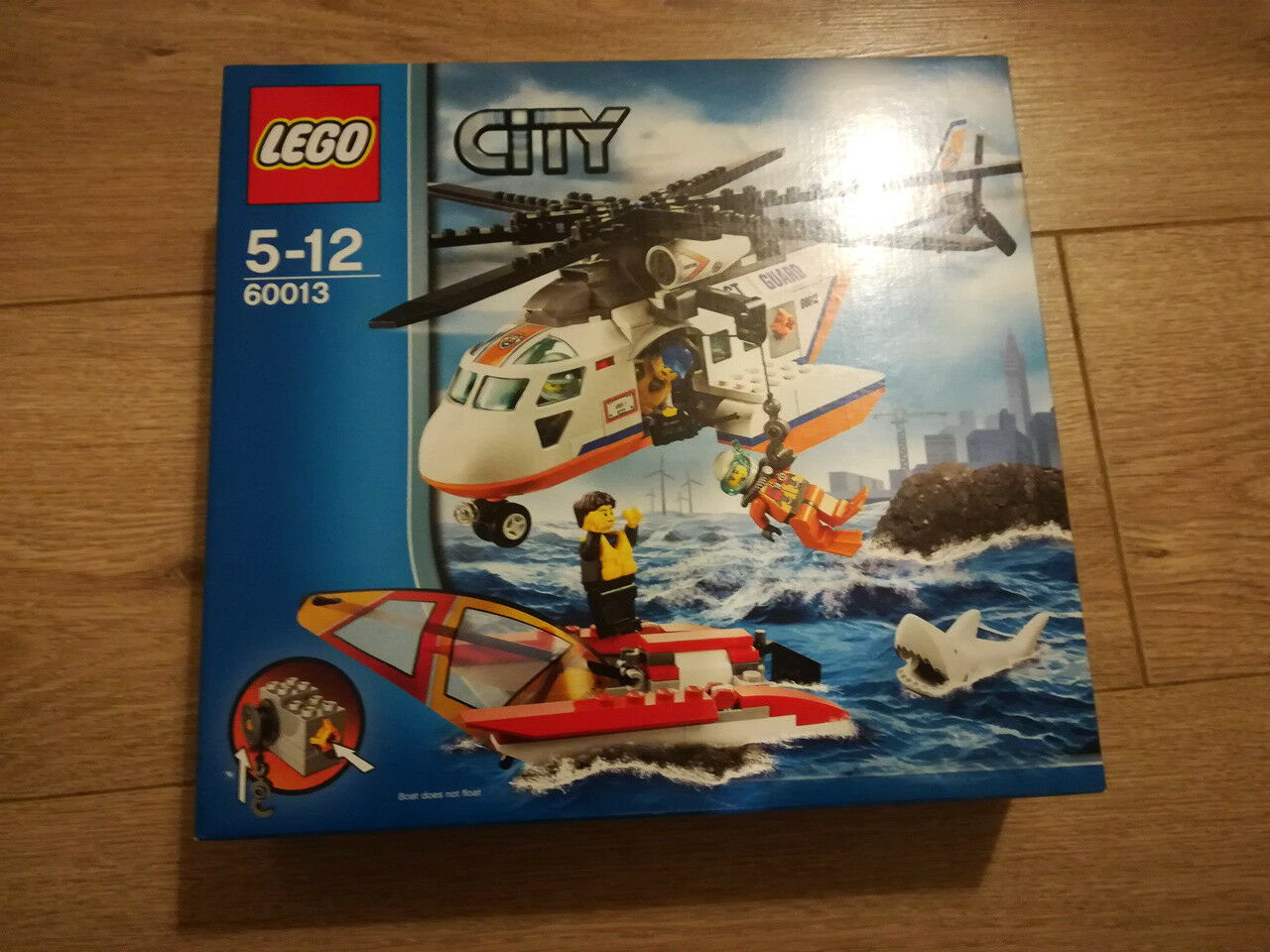 LEGO City 60013 - Hélicoptère des garde-côtes - Coast Guard Helicopter NEUF MISB