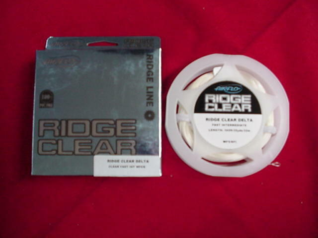 Air Flo Ridge Clear Internediate 6 7 Fly Line NEW