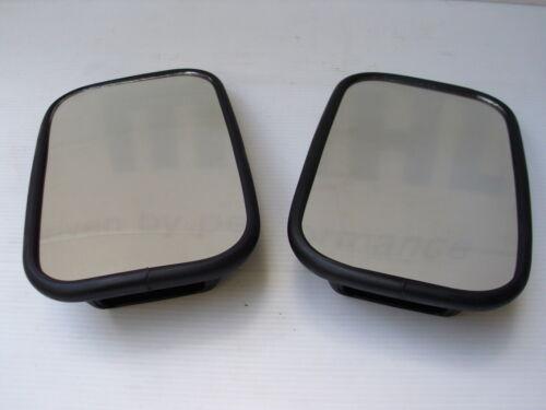 par nuevo Land Rover Serie 3 Espejo Puerta//Ala Espejo de conjunto de cabezales MTC5084