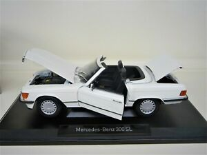 1-18-NOREV-Mercedes-300SL-W107-weis-white-Limited-Edition-1000-Pieces-NEU-NEW