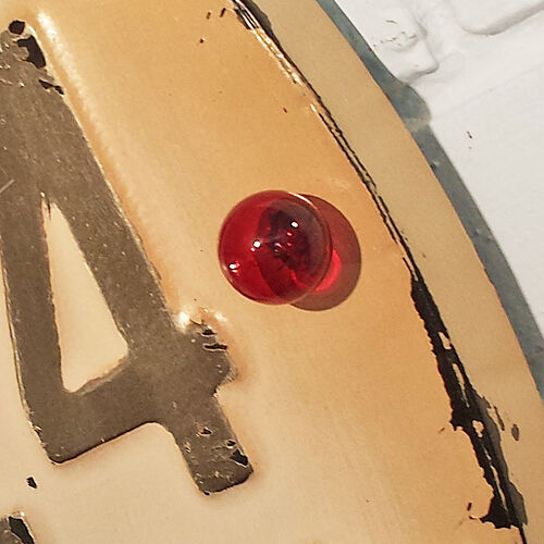 Rustic Vintage Metal OPEN 24 HOURS Bowling Ball Alley Pin Marquee Light Up Sign