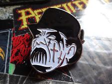 King Diamond Metal Badge Pin Jacke Black Metal Mercyful Fate