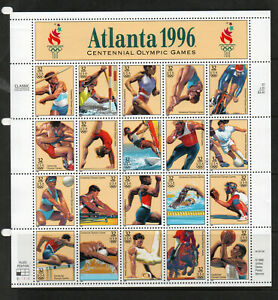 USA-ATLANTA-1996-OLYMPIC-GAMES-SHEET-OF-20-UM-MNH-SG3184-3203