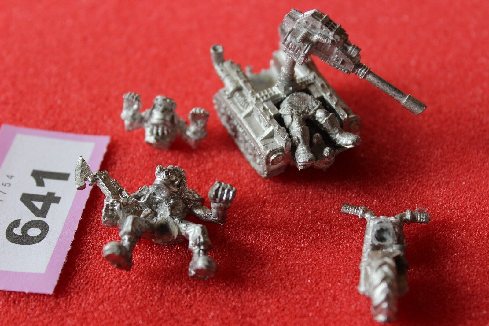 Games Workshop Warhammer 40k Rogue Trader Era Orks Wartrak War Trak Metal Mint C