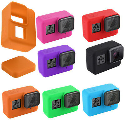 Silicone Case Cover Skin Camera Rubber Protector Housing For For GoPro 8 New UK~